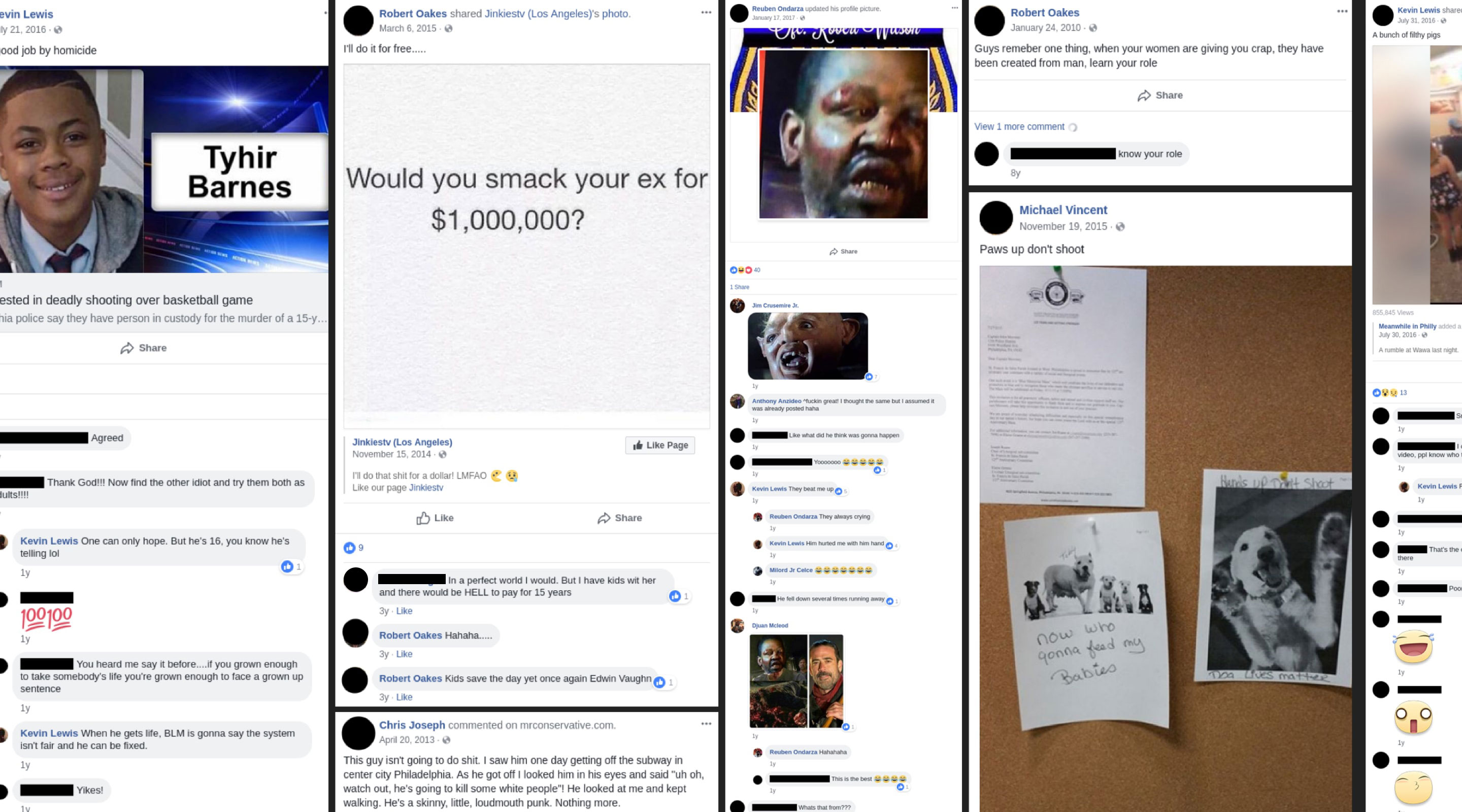 Cops' troubling Facebook posts revealed | In Plain View | Injustice