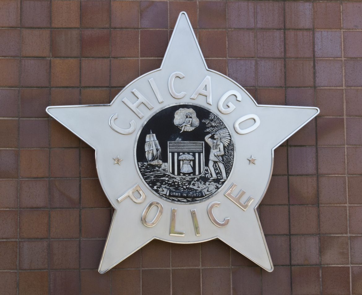 CPD police sign