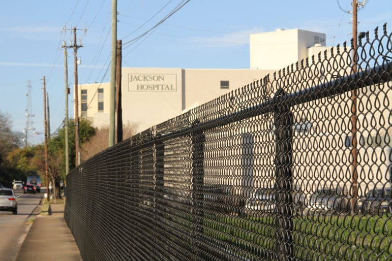 Jackson Park Hospital, where inmate Billy Smith was taken in November 2017 after he suffered fatal injuries at an Alabama prison.